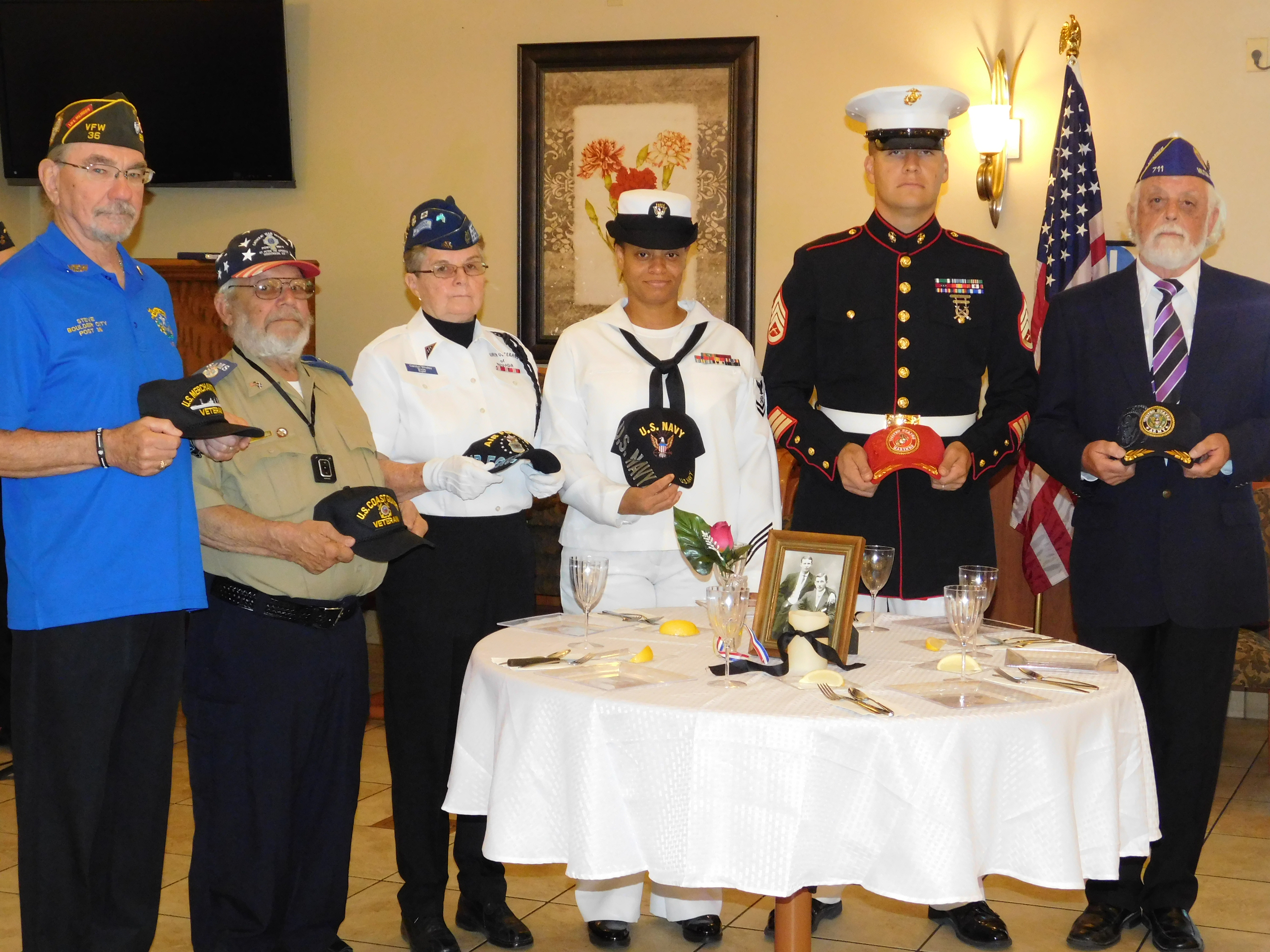 The Nevada State Veterans Home hosted a POW/MIA Recognition Ceremony.