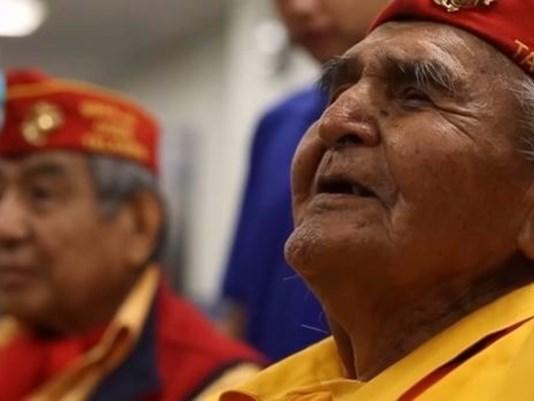 Joe Hosteen Kellwood, a Navajo code talker during WWII, dies