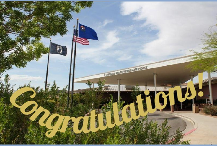 <p>Congratulations to the Nevada State Veterans Home, on your 5-Star Rating!</p>