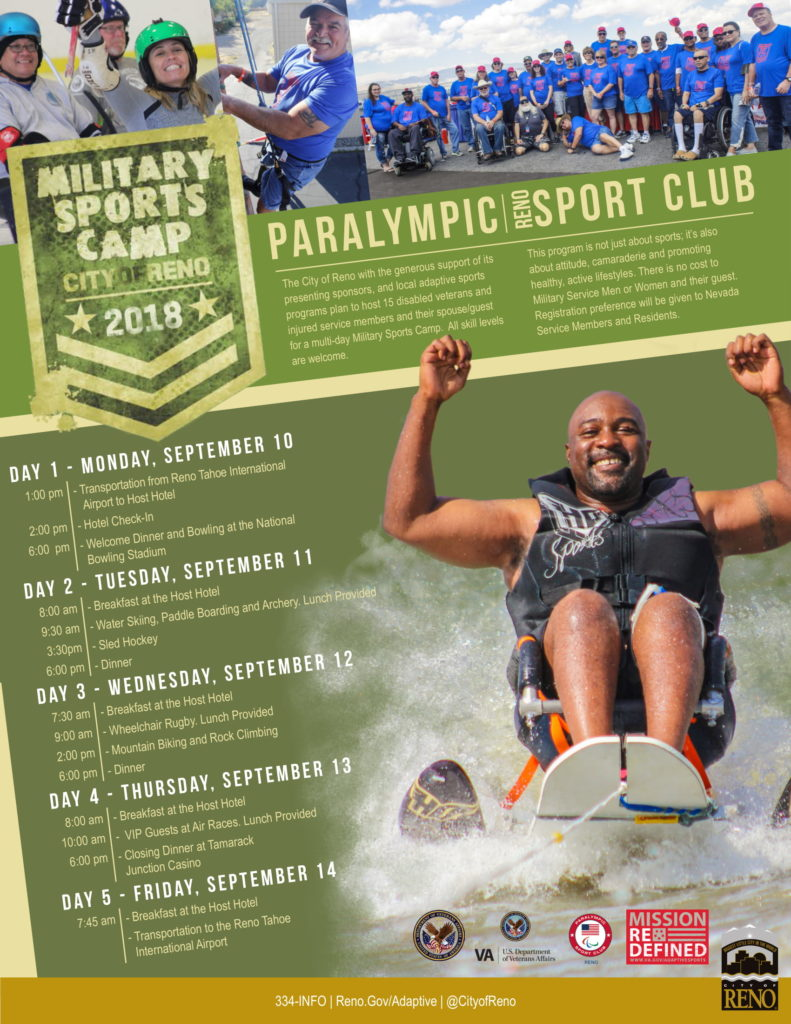 City of Reno Military Sports Camp - Nevada Department of