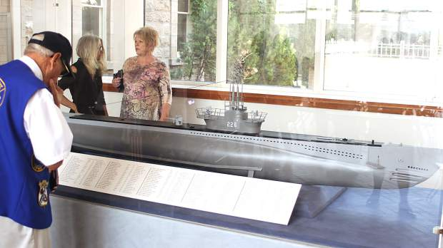Model of U S S Corvina Submarine Receives Permanent Home and Honor