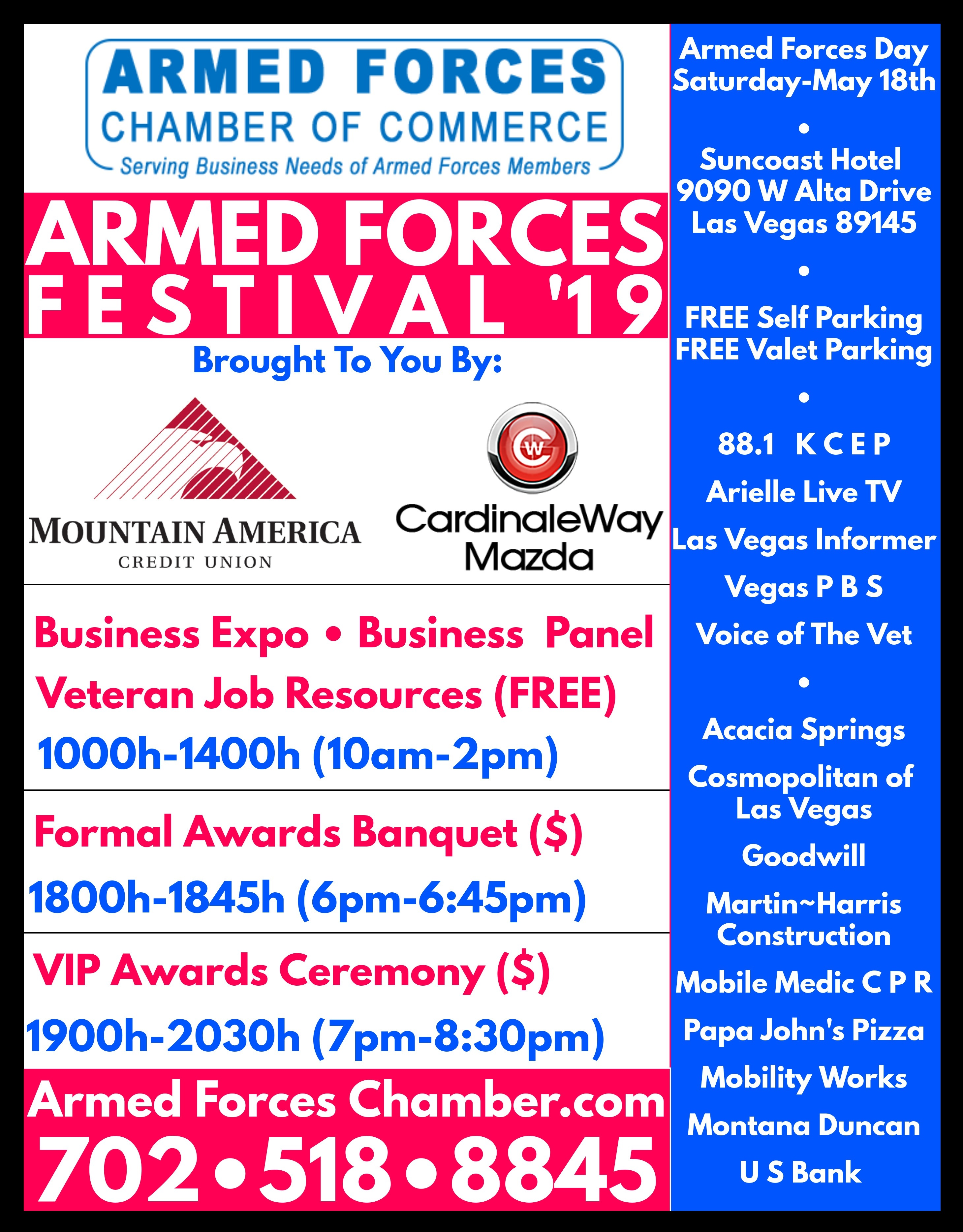 Armed Forces Day Festival - Nevada Department of Veterans Services