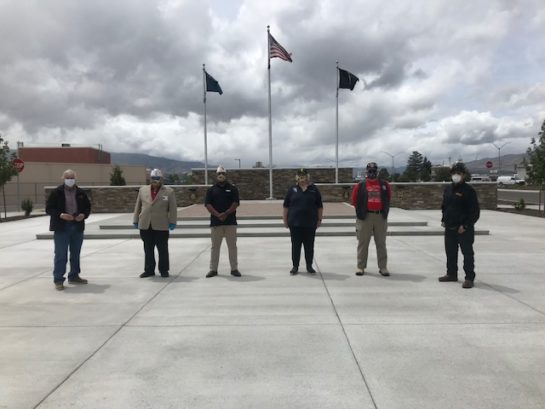 <p>Laborers' Union, Local 169 presented 50 Raley's gift cards to the State Commanders of the American Legion, Disabled American Veterans, Veterans of Foreign Wars and Vietnam Veterans of America. </p>