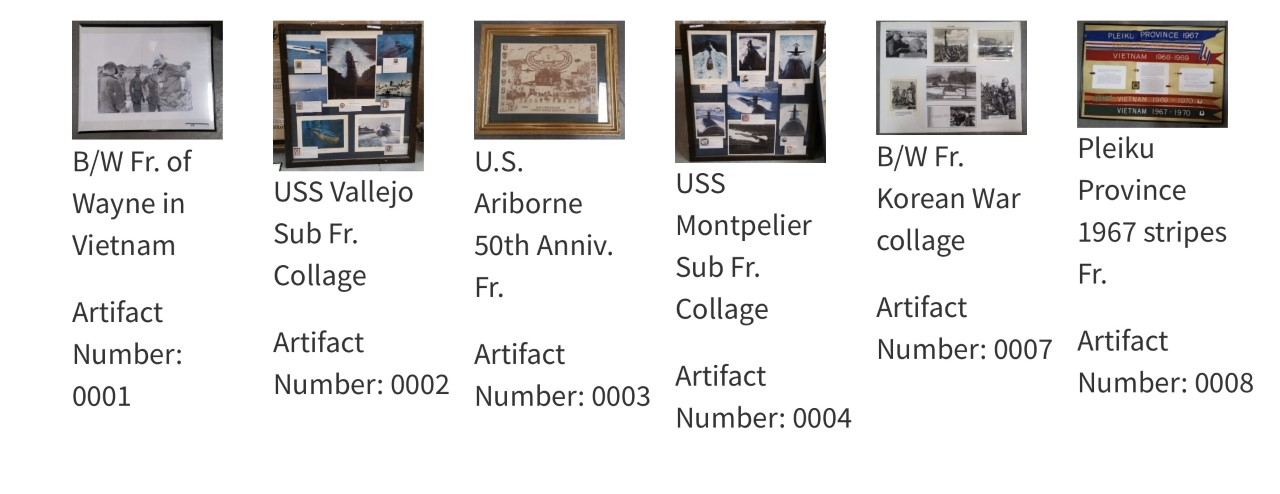 <p>The Nevada Department of Veterans Services (NDVS) has a number of artifacts in its possession that we would like to offer to Veteran Service Organizations. As authorized under Senate Bill (SB) 70 in 2017, NDVS may take possession of any abandoned or unclaimed artifacts and other property that have military or historical value for safekeeping, left on state property. </p>