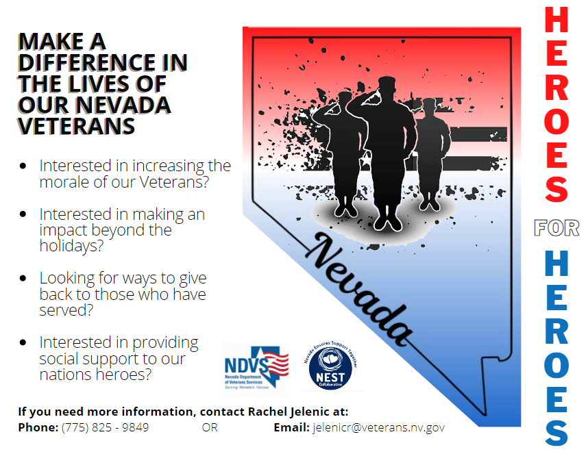 <p>Volunteer to explore a new friendship with a veteran, or receive social support – read more about the new NDVS Heroes for Heroes program!</p>