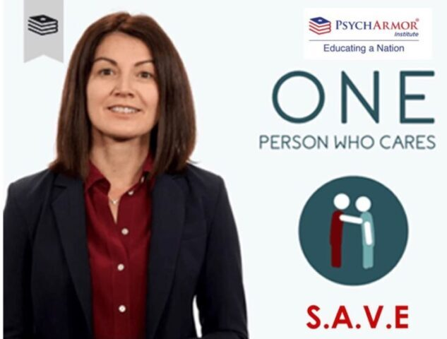 <p>This online suicide prevention course was developed in collaboration with the Department of Veterans Affairs (VA) and is presented by Dr. Megan McCarthy, Deputy Director Suicide- Prevention. </p>
