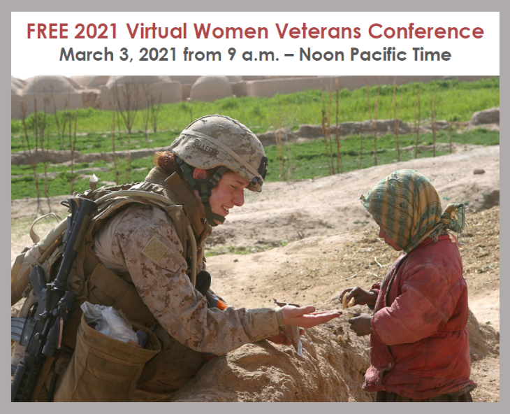 <p>In celebration of Women's History Month, on Wednesday, March 3, 2021 from 9:00am – 12:00pm Pacific Time, the Nevada of Department of Veterans Services (NDVS) will host a FREE Virtual Women Veterans Conference on Zoom.</p>