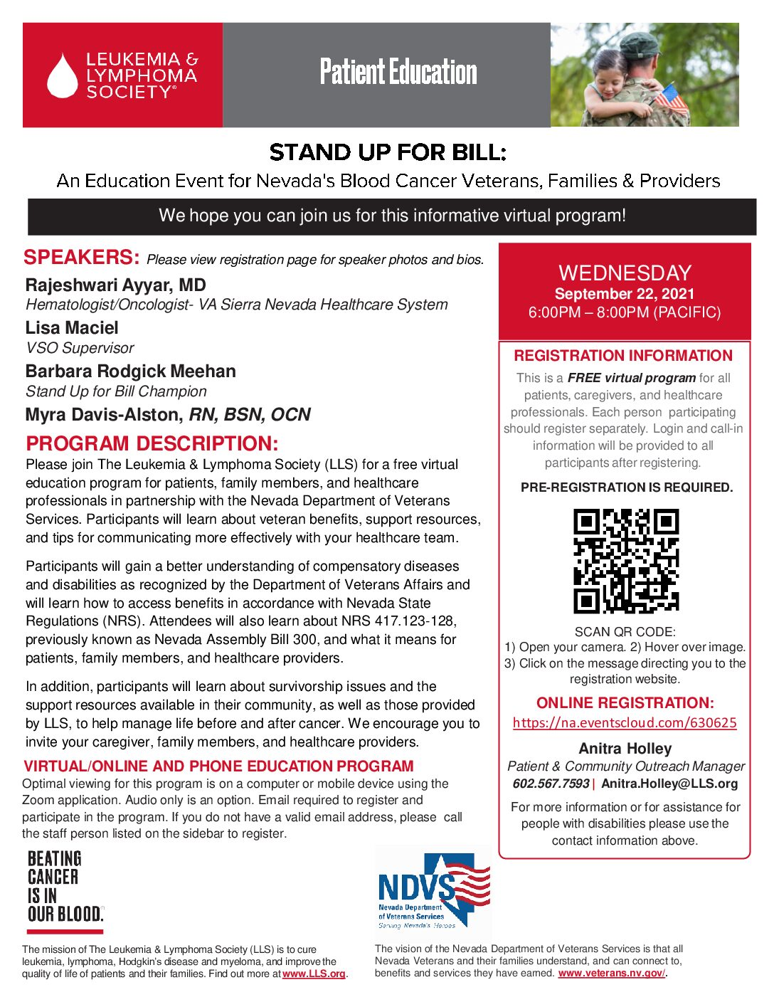 STAND FOR ALL BILL – Event Education – Free Virtual Program